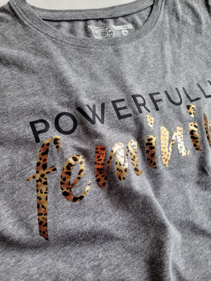 Women's Crew Neck Tee - Powerfully Feminine