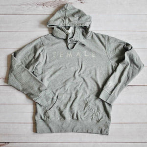 Women's hoodie - Firearm Female