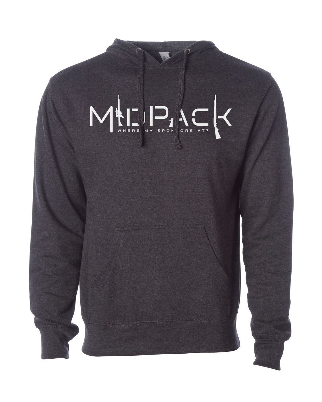 Men's Hoodie - Mid Pack Where My Sponsors At?