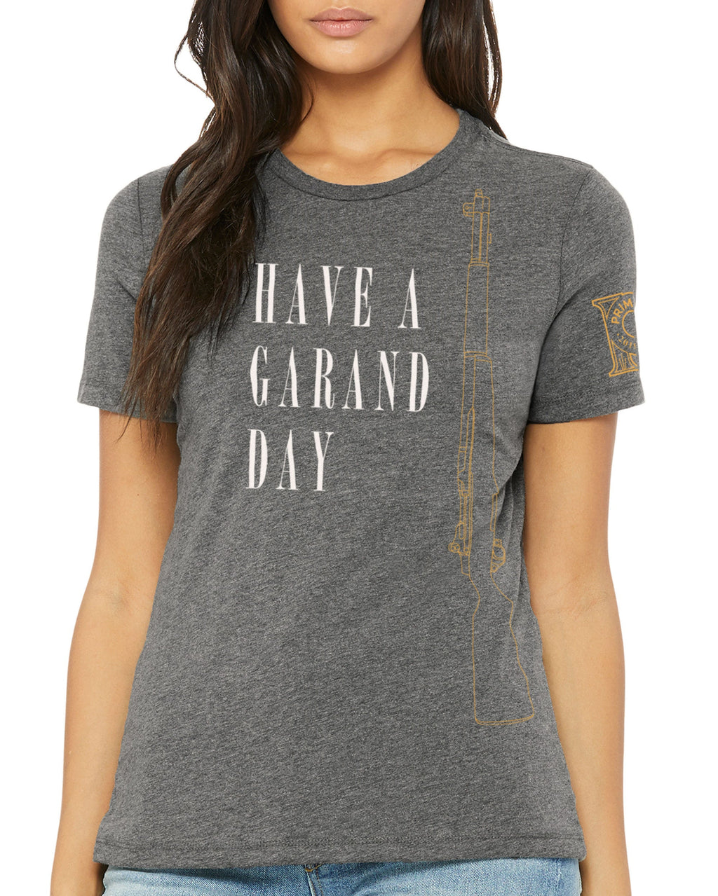 Women's Crew Neck Tee - Have a Garand Day