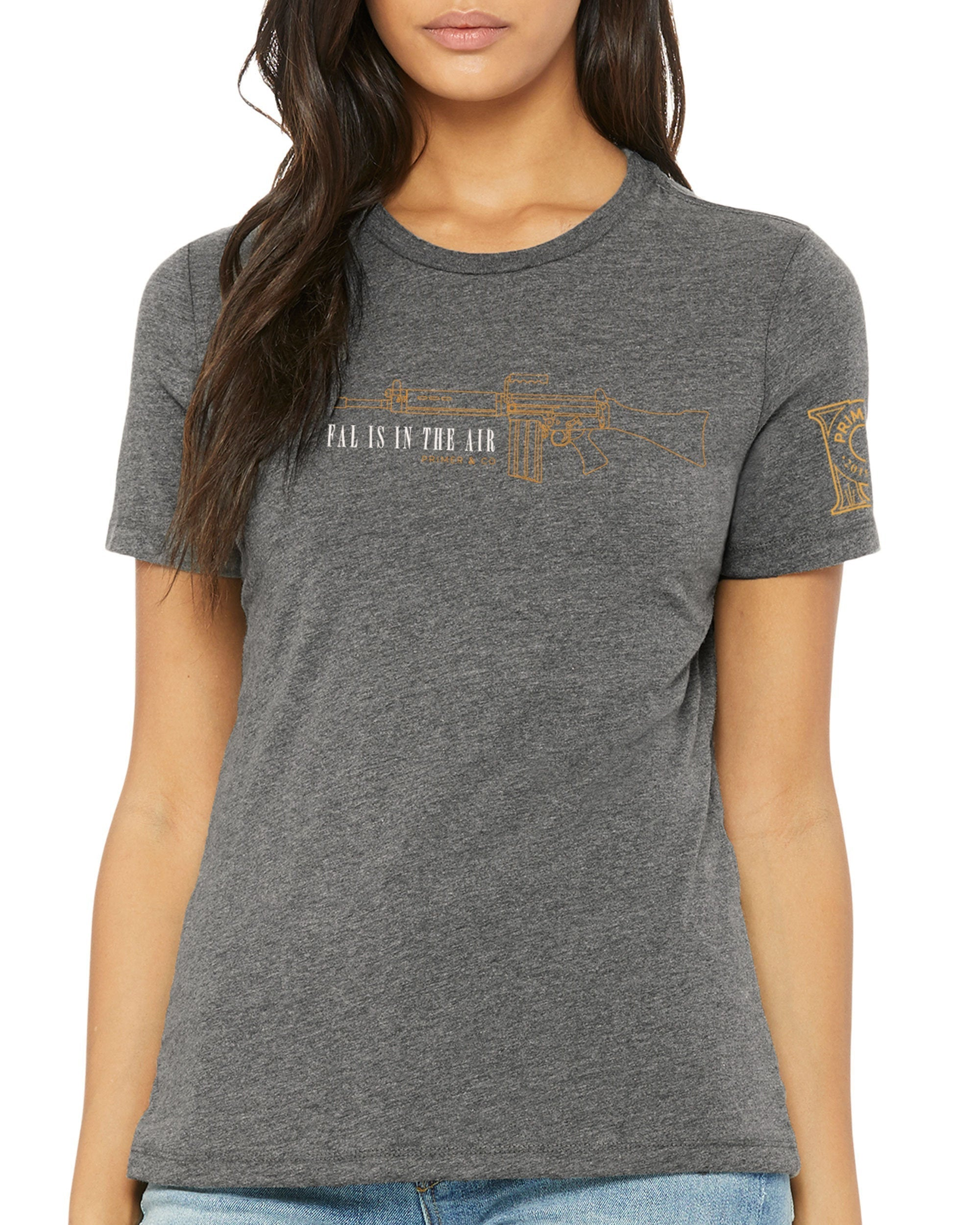 Women's Crew Neck Tee - FAL is in the Air