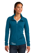 Load image into Gallery viewer, Sport-Tek® Ladies Sport-Wick® Stretch Full-Zip Jacket