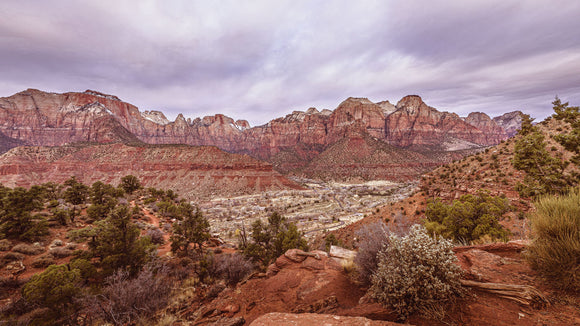 View from the Watchman Trail