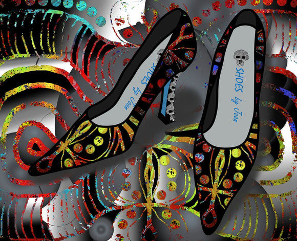 Shoes by Joan - Patterns of Life Pumps