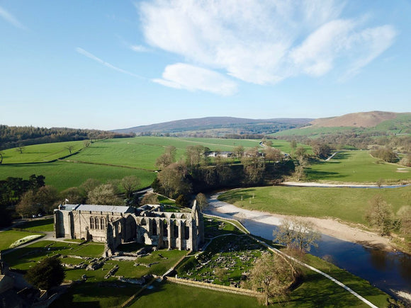 Bolton Abbey Side View, Skipton, Yorkshire