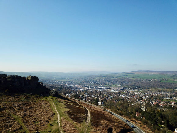 Cow and Calf Overlooking Ilkley, North Yorkshire