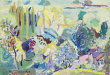 May Magic - 1992 - oil on canvas - 605x420mm