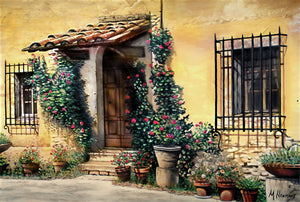 Tuscany Doorway