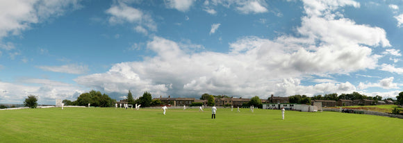 Clayton Cricket Club v Greetland in The Towergate Halifax Cricket League. 1