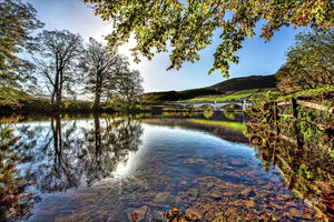 Autumn in Burnsall