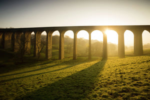 Thornton Viaduct at dawn 2