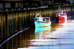 Whitby Boats