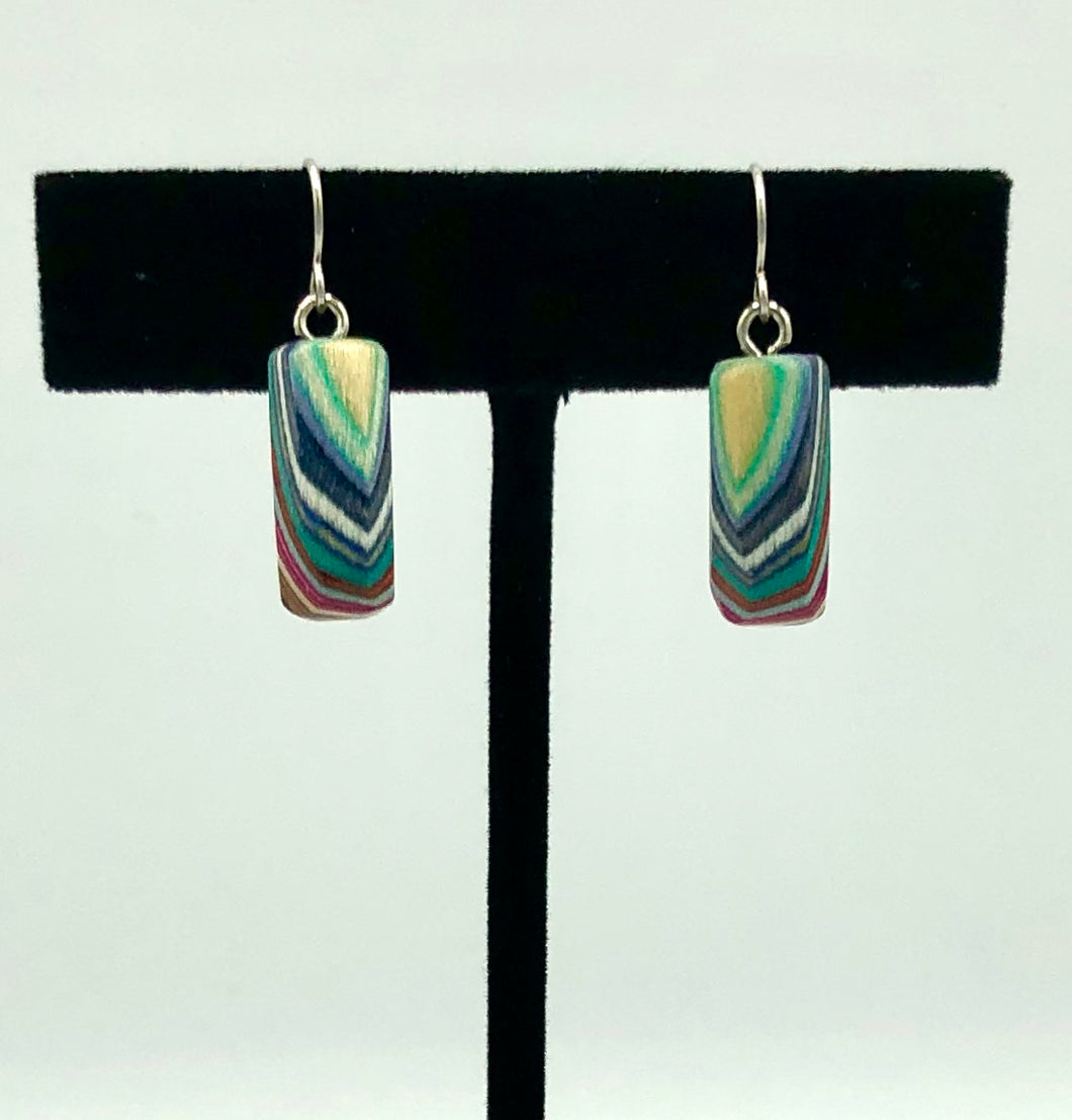 Featherwood Drop Earrings