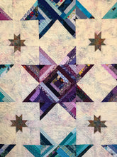 "Load image into Gallery viewer, Quilt, ""Stars Rock"""