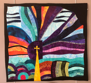 "Quilted Wall Hanging, ""No Assembly Required"" by Karla Irby"