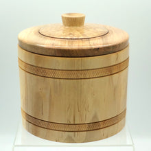 Load image into Gallery viewer, Maple Bucket with Lid