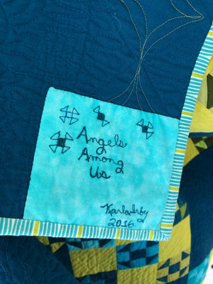 "Quilt, ""Angels Among Us"""