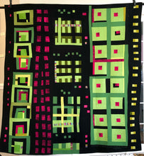 "Load image into Gallery viewer, Quilt, ""Lauderdale Nights"""