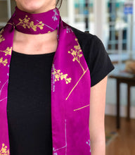 Load image into Gallery viewer, Skinny Berry Branch Scarf