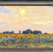 "Load image into Gallery viewer, Andrii Kateryniuk, ""Sunflowers and Sun"""