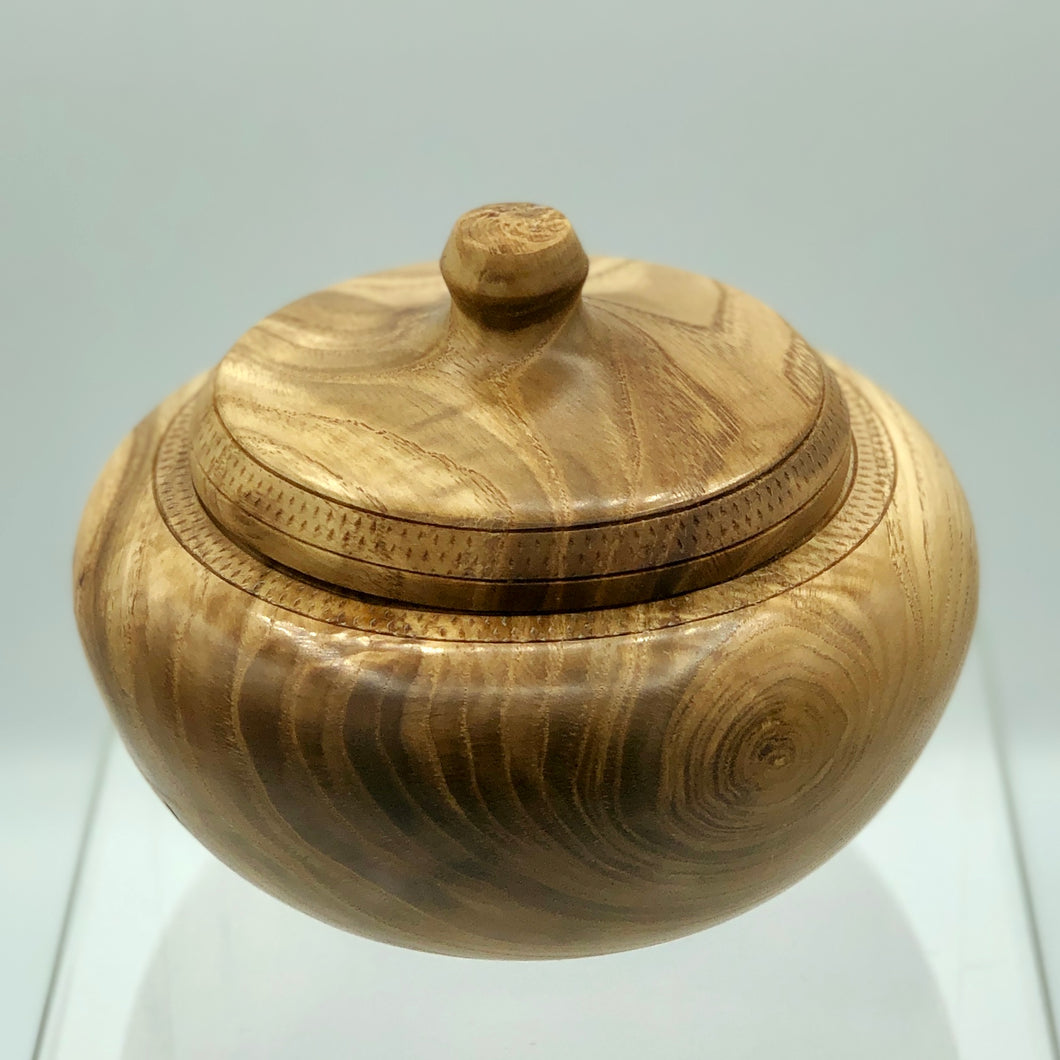 Chestnut Lidded Jar