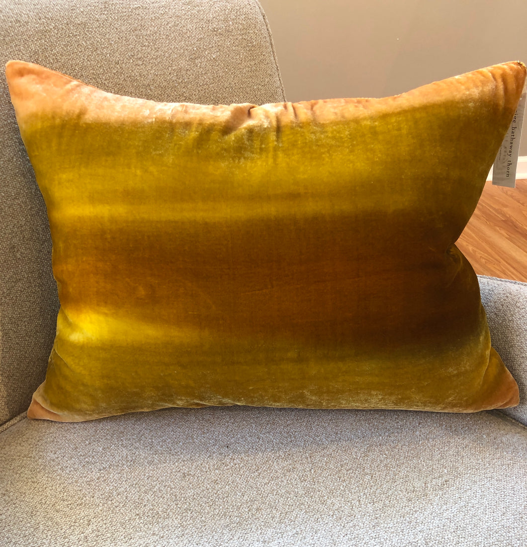 Silk Velvet Rectangular Pillow