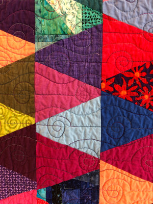 "Quilt, ""Pecking Order"" SOLD"