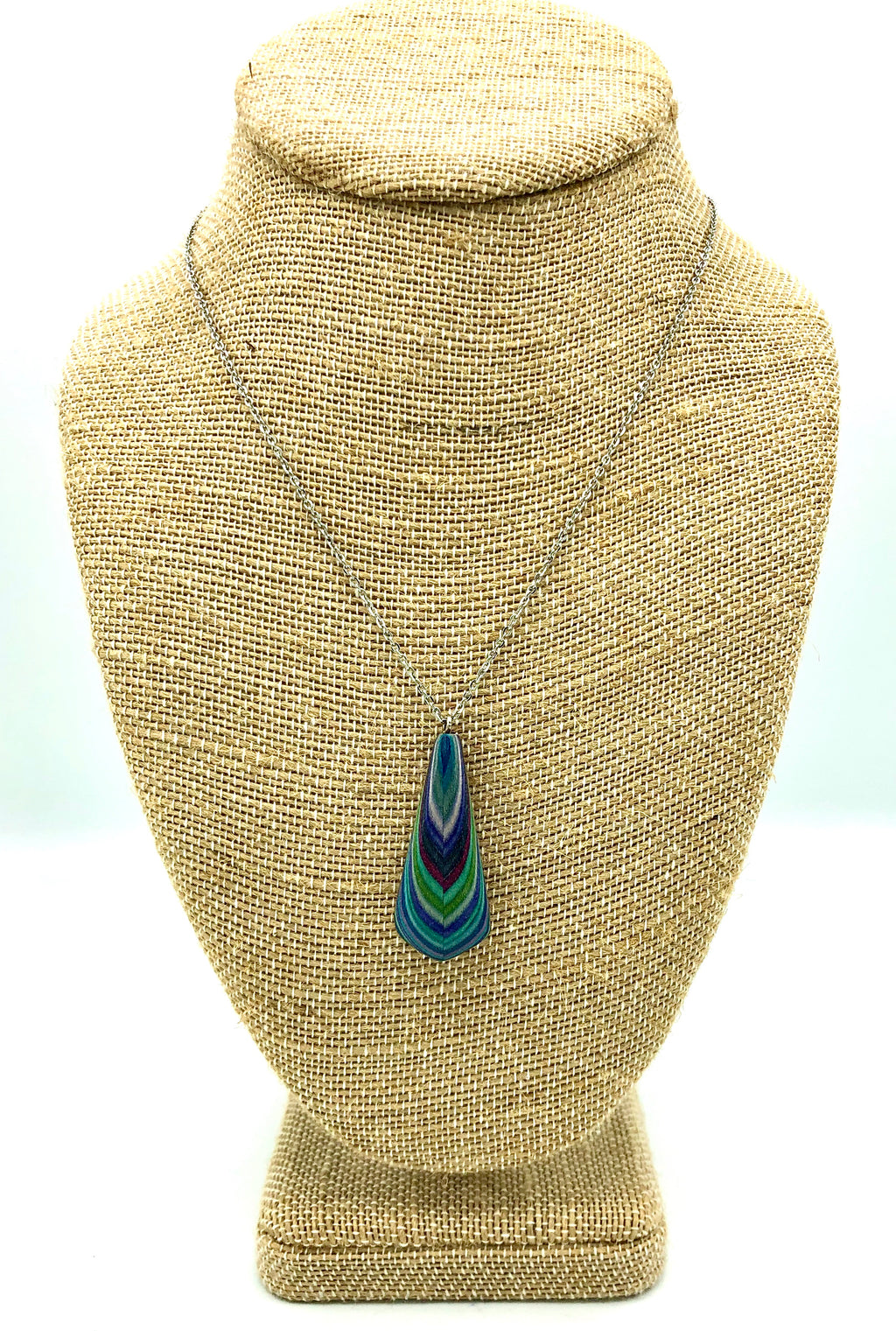 Featherwood Tear Drop Necklace