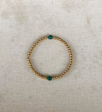 Load image into Gallery viewer, Bead Bracelet with Semi-Precious Stones