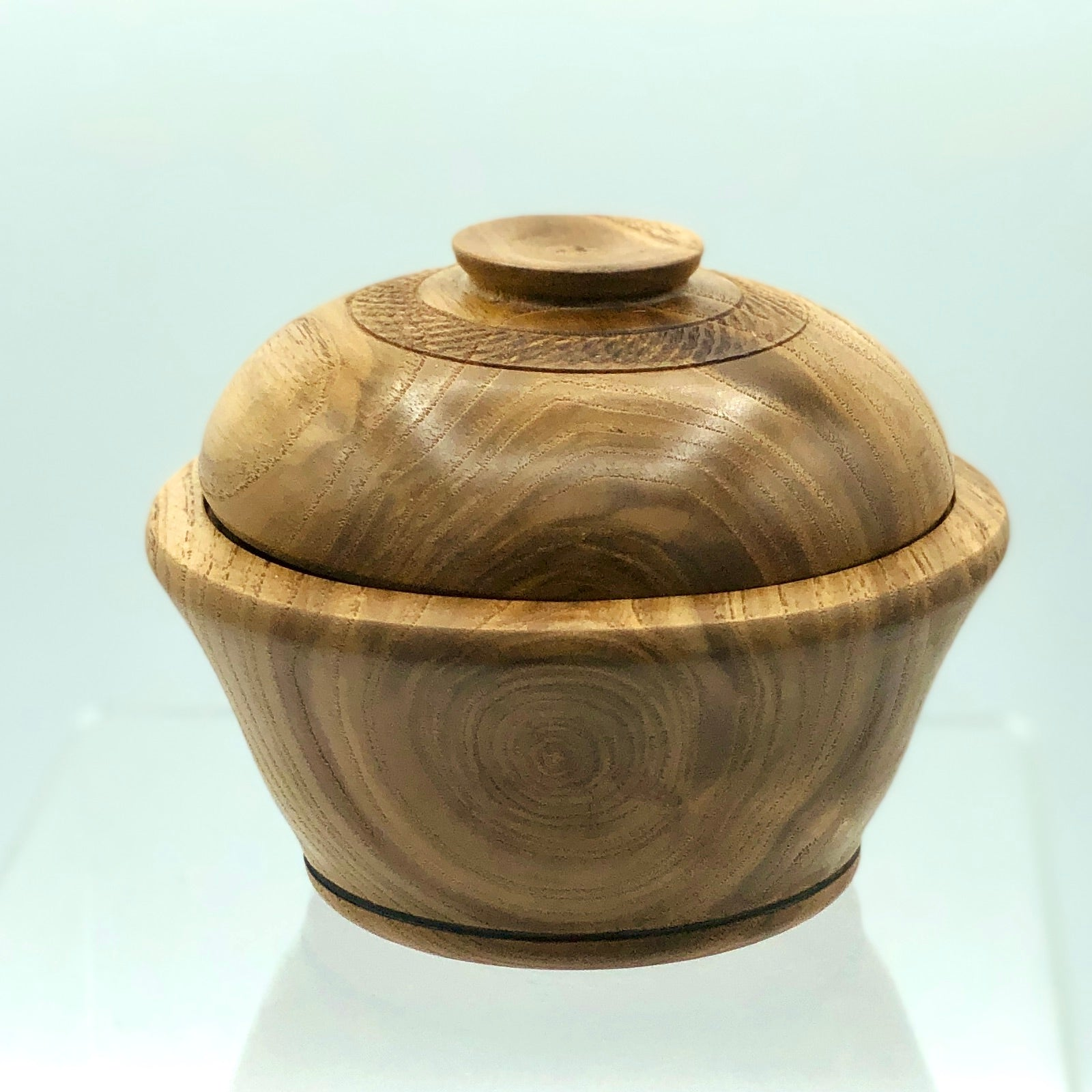 Chestnut Lidded Jar, Small