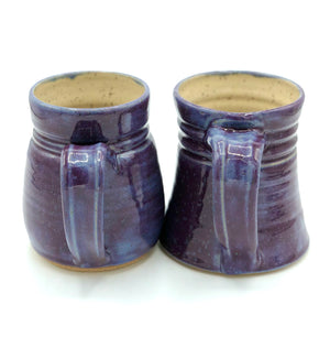 Stoneware Mugs - Purple Glaze