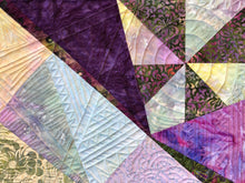 Load image into Gallery viewer, Quilted Batik Placemats, Set of 4