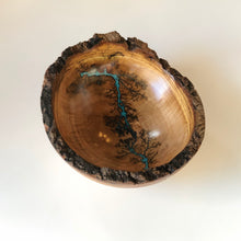 Load image into Gallery viewer, TB Live Edge Turned Maple Bowl, Medium