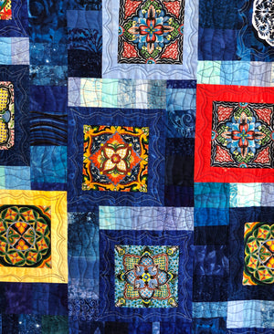 "Quilt, ""Beautiful Dreamers"""