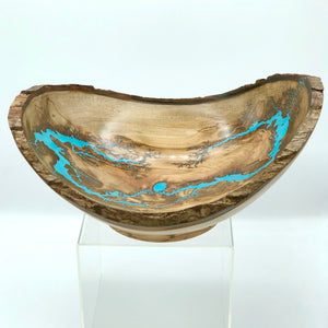 TB Live-Edge Maple Bowl, Large