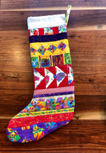 Load image into Gallery viewer, Quilted Christmas Stockings