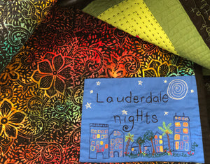 "Quilt, ""Lauderdale Nights"""