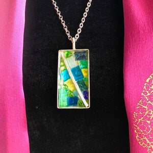 Long Mosaic Necklace