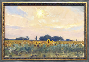 "Andrii Kateryniuk, ""Sunflowers and Sun"""