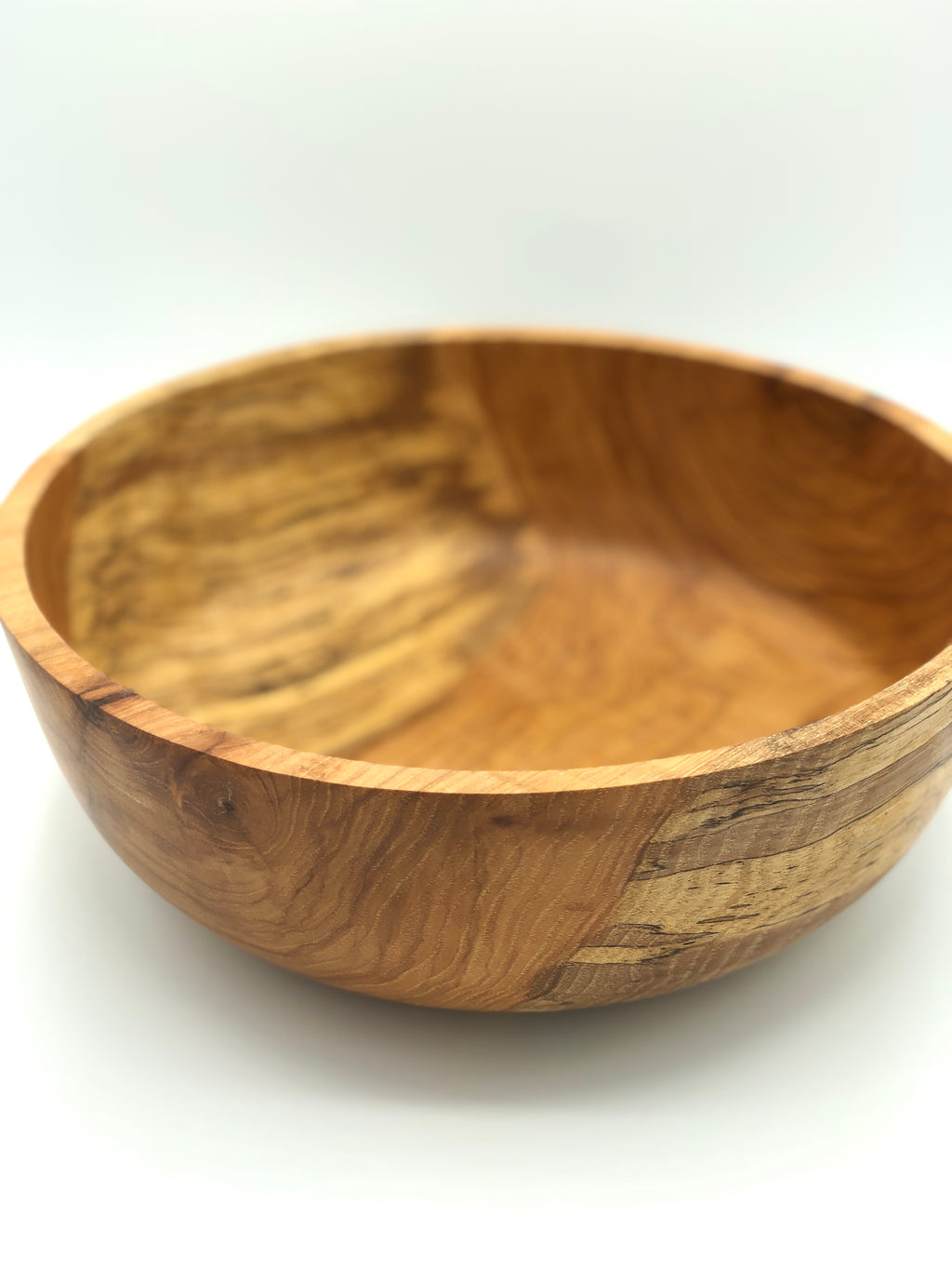 Don Talcott #171, Spalted Pecan Bowl, 10.5""