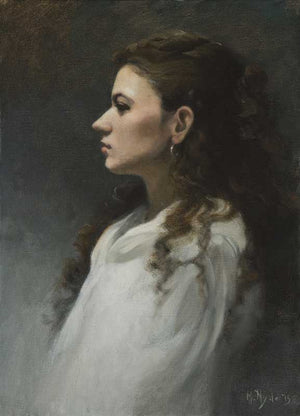 "Maureen Hyde, ""Portrait of Ilana"""