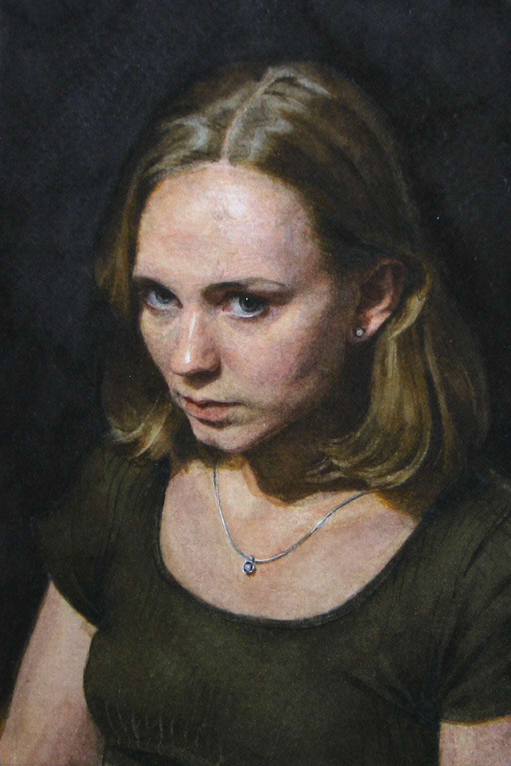 Self Portrait, Angelina Holembivska