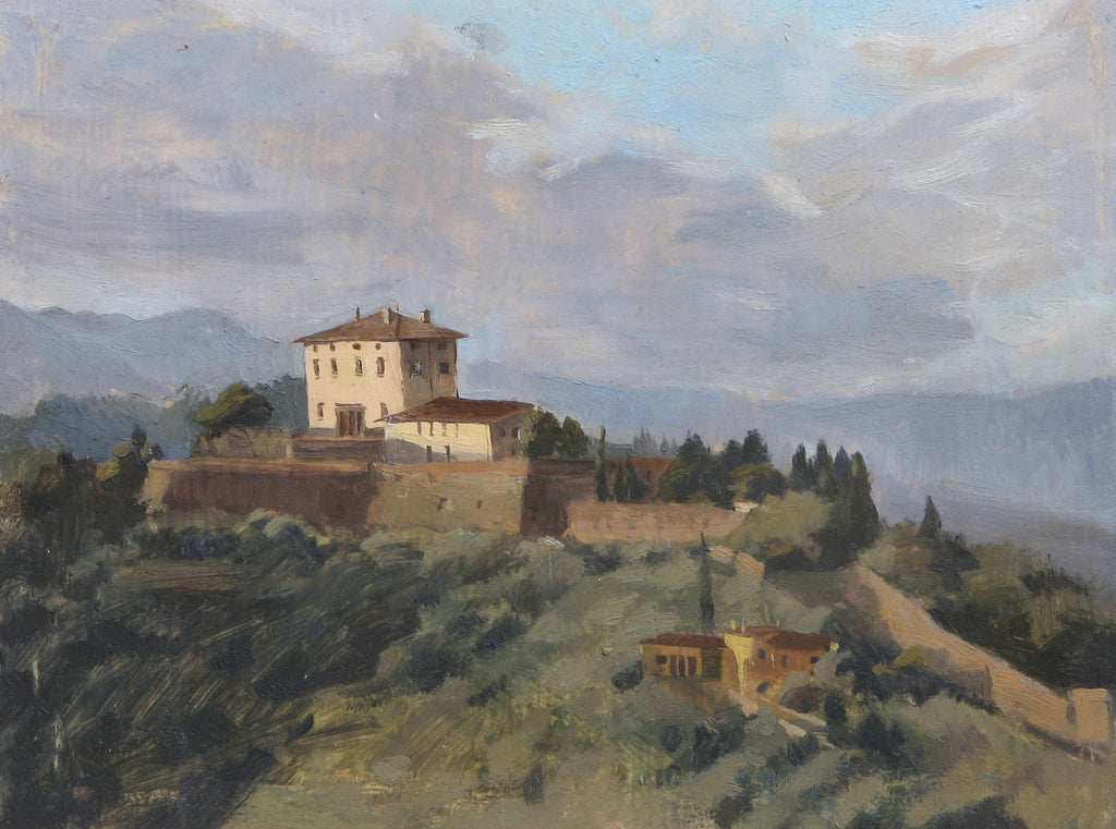 Tuscan Afternoon, Angelina Holembivska