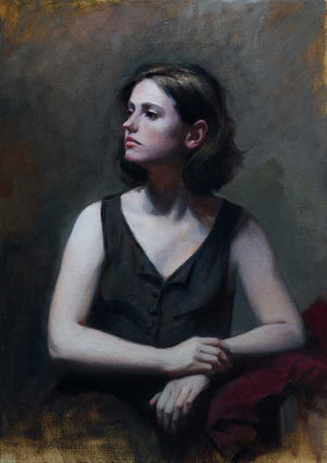 Portrait of Chiara/Maureen Hyde