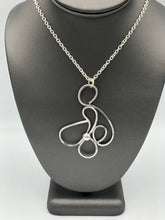 "Load image into Gallery viewer, McRose Rm6 24"" Sterling Freeform Necklace"