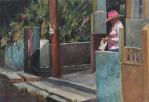 "Anne Hightower-Patterson, ""Pink Hat"""