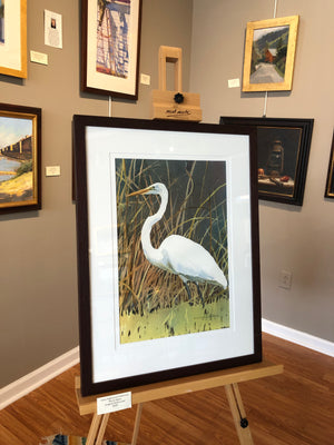 "Anne Hightower Patterson, ""Marsh Egret"""
