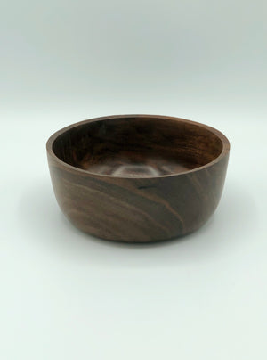 Don Talcott #182, Black Walnut Turned Bowl