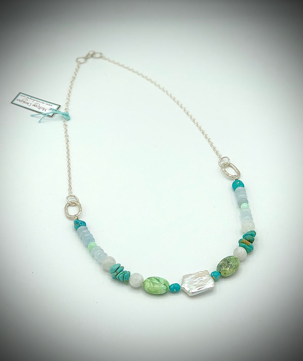 McRose Rm5 Necklace With Pearl