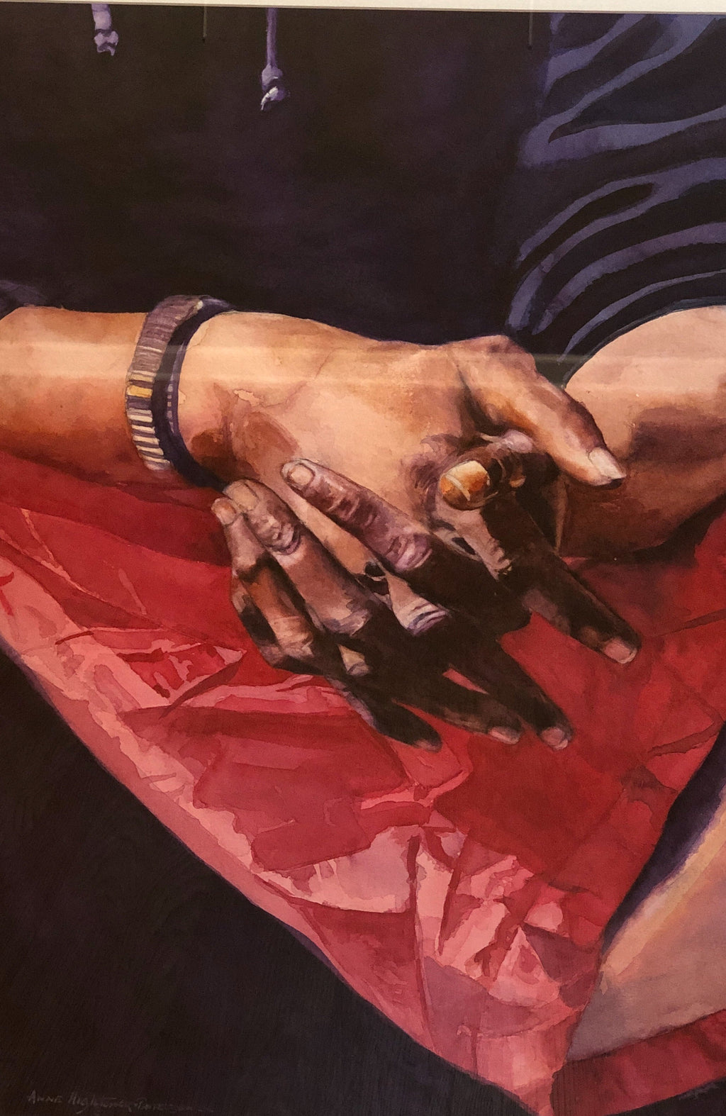 "Anne Hightower-Patterson, ""Hands of the Homeless"""
